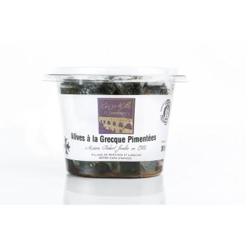 Olives à la Grecque Pimentées