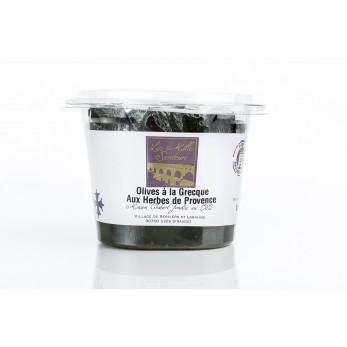 Olives à la Grecque aux Herbes de Provence