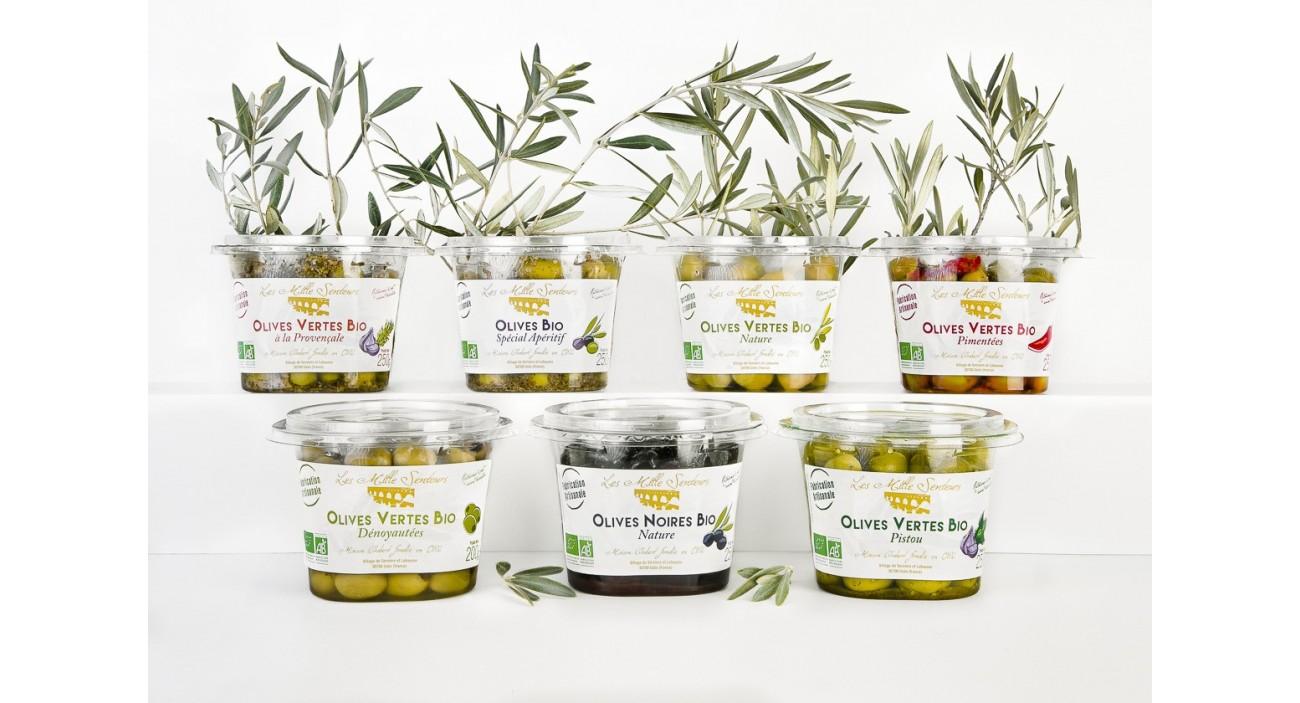 Olives de table BIO